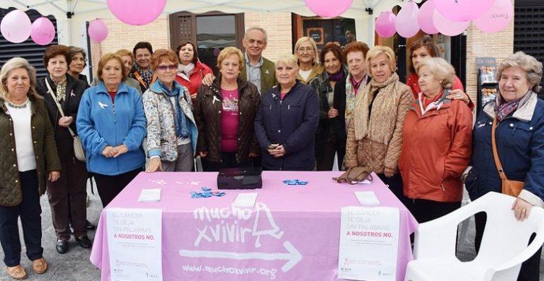 Villaviciosa se suma al Día Internacional contra el Cáncer de Mama