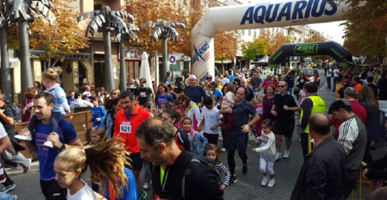 Más de 600 personas corrieron este domingo por las calles de Villaviciosa