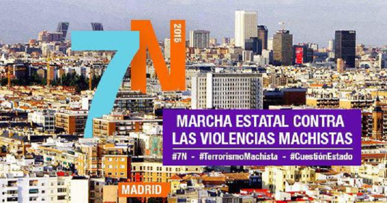 Convocan una pegada de carteles en Villaviciosa para las marchas del 7N