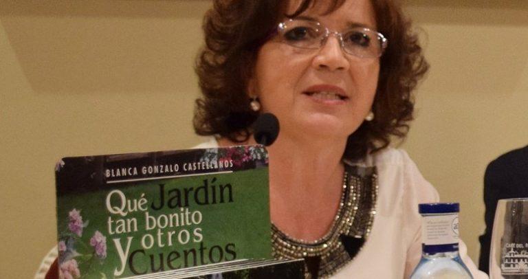 La villaodonense Blanca Gonzalo presentó 'Qué jardín tan bonito y otros cuentos'