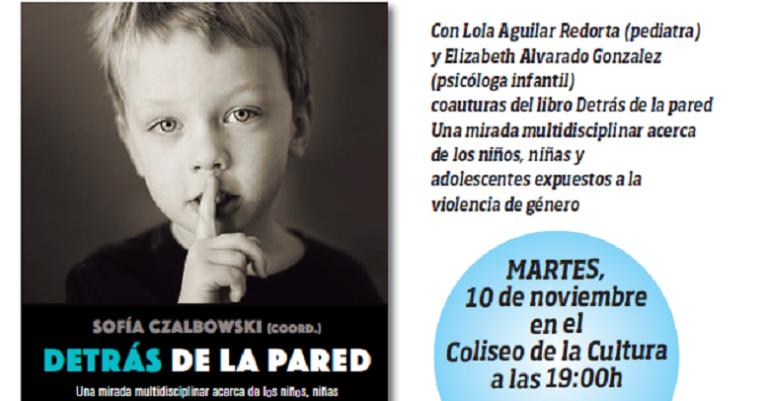 Los niños y la violencia de género: presentación en Villaviciosa de 'Detrás de la pared'