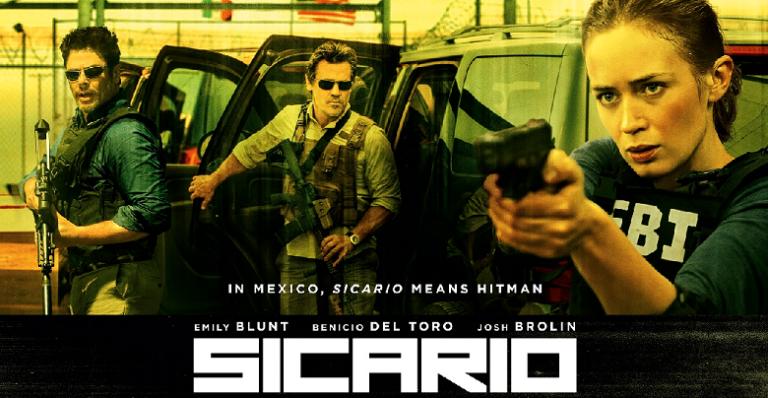 'Sicario' y 'Mi Gran Noche', ofertas del Cine de Estreno para este «finde» en Villaviciosa