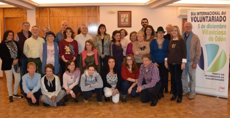 Los voluntarios de Villaviciosa también tuvieron su reconocimiento