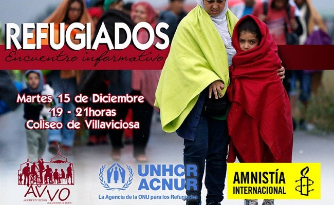 AVVO Acnur Amnistía Internacional Villaviciosa