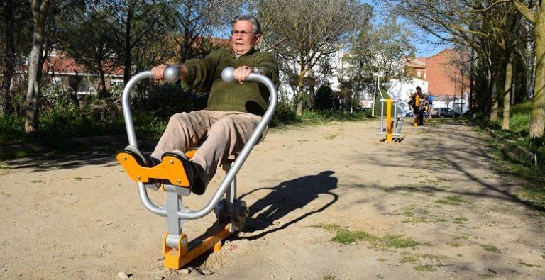 ¡Todos a hacer deporte al Antonio Machado! Abierto ya el nuevo circuito biosaludable