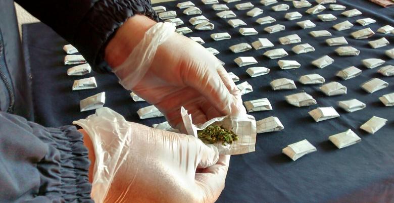 Operación anti drogas Villaviciosa