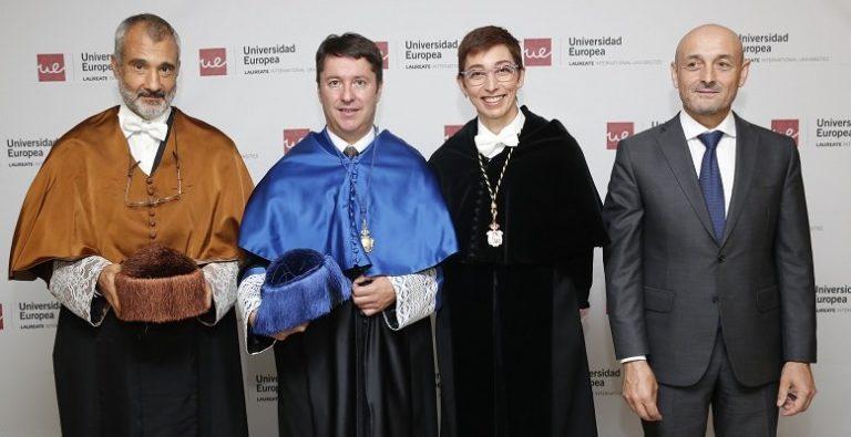 El físico Juan Ignacio Cirac, investido honoris causa por la UEM
