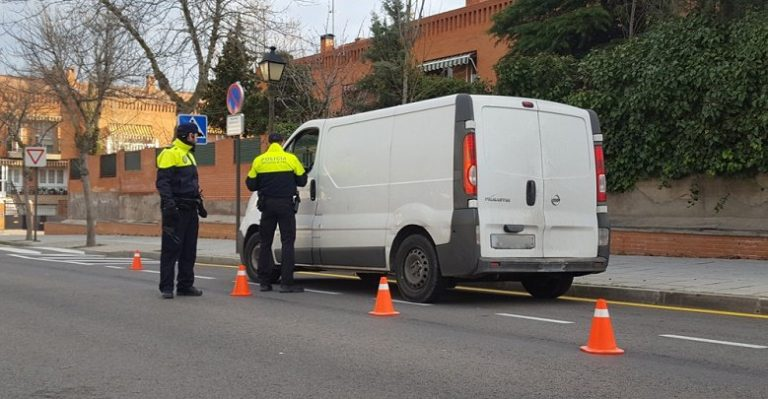 Villaviciosa se suma a la campaña de la DGT de inspección de camiones y furgonetas
