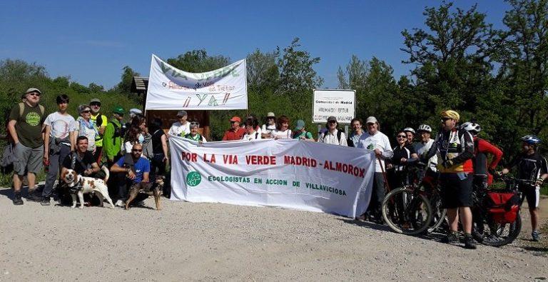 Villaviciosa no deja de pedir la vía verde Madrid-Almorox