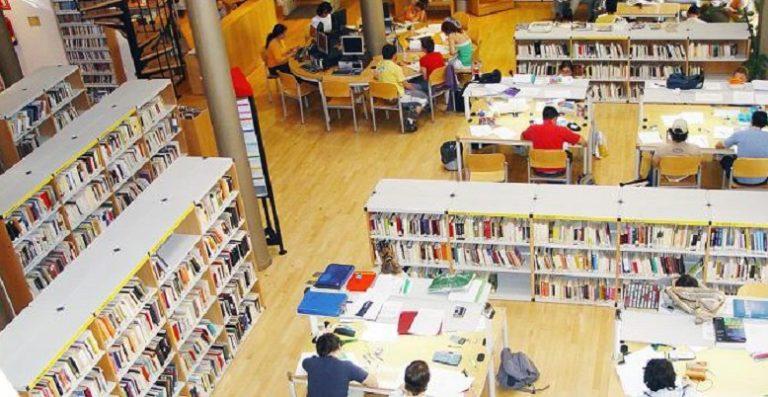 Las bibliotecas de Villaviciosa, con horario especial ampliado por exámenes