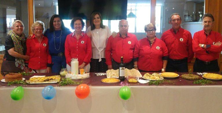 Los mayores de Villaviciosa celebran su tradicional Concurso Gastronómico de las Fiestas Patronales