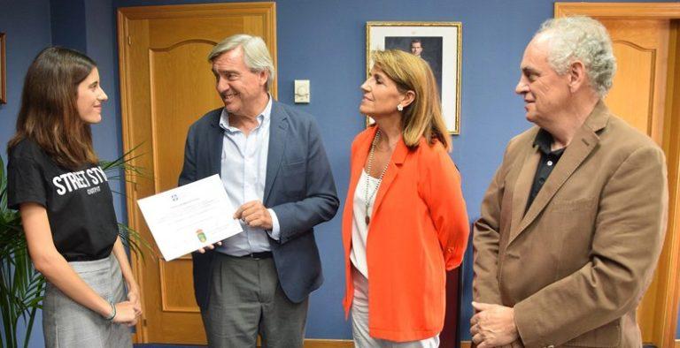 La villaodonense Lorena Ramos recibe una beca de excelencia en la Universidad Francisco de Vitoria