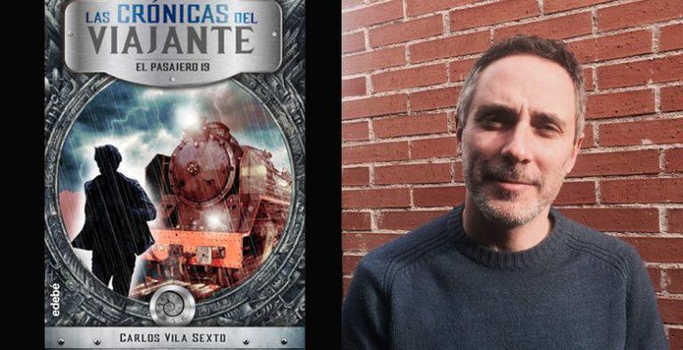 Carlos Vila presenta su último libro, ´Las crónicas del viajante´, en la librería de Villaviciosa La isla del tesoro.