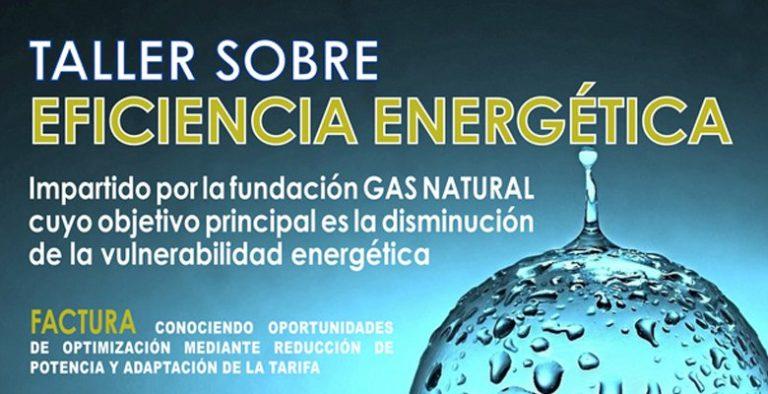 Taller sobre eficiencia energética en el Centro de Mayores