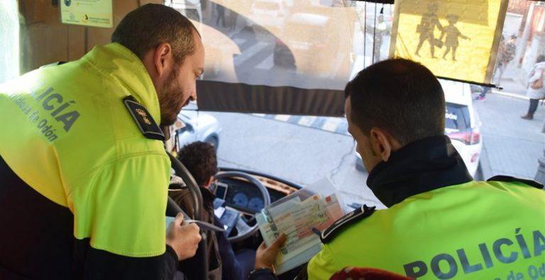 Campaña especial de la DGT sobre vigilancia y control del transporte escolar