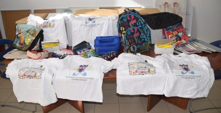 Recogida solidaria de material escolar y productos de higiene para los niños de Madagascar