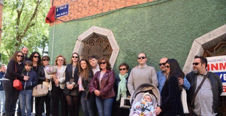 El médico y vecino de Villaviciosa Carlos Valero Gil ya tiene su calle en el municipio