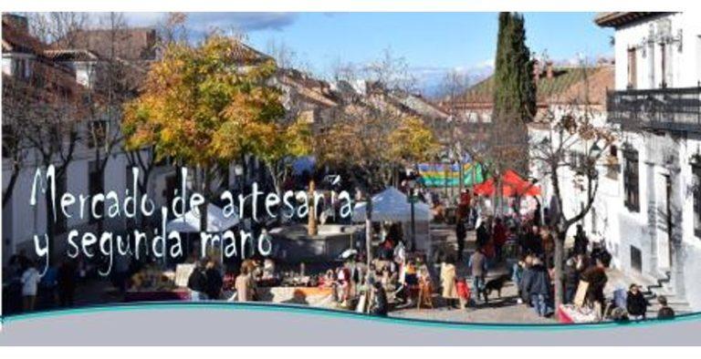 Este sábado tienes una cita con el Mercado al aire libre de Artesanía y Segunda Mano