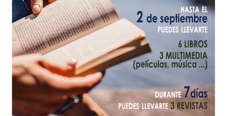 La biblioteca municipal de Villaviciosa te anima a 'Leer en vacaciones'