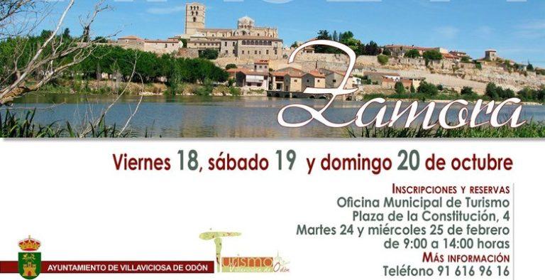 Ya puedes apuntarte al viaje a Zamora que organiza la Oficina Municipal de Turismo de Villaviciosa