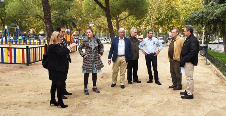 Finalizan los trabajos de mejora y acondicionamiento en el parque Antonio Machado
