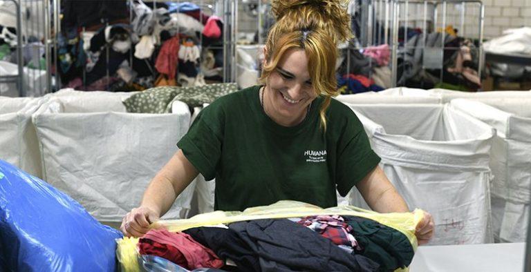 Los villaodonenses depositaron más de 80 toneladas de textil usado en 2019