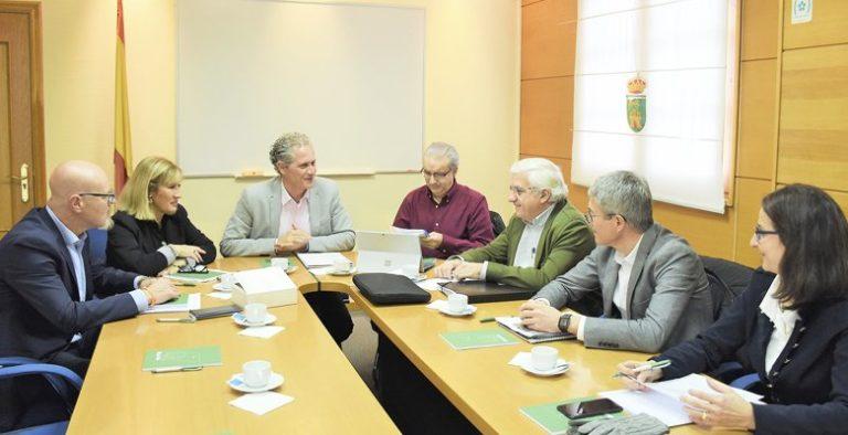 Encuentro con representantes del Canal de Isabel II para abordar asuntos y proyectos que afectan a Villaviciosa de Odón