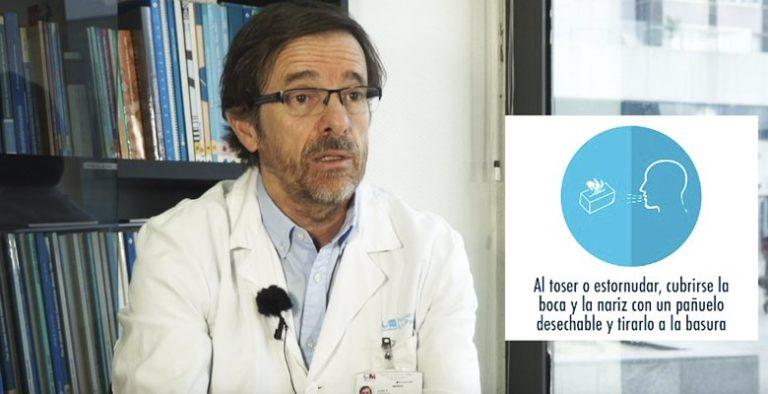 La Comunidad de Madrid informa sobre el coronavirus a través de un vídeo difundido por redes sociales