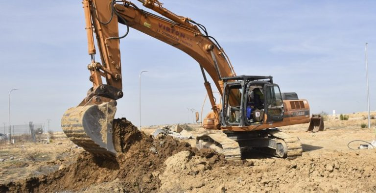 Comienzan los trabajos de construcción de la estación de bombeo de aguas residuales