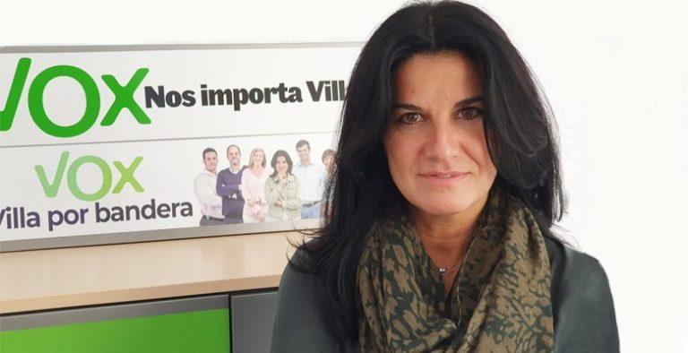 """María Ruiz (VOX): """"Ahora se dan todos los condicionantes para dar el apoyo al PP..ellos tienen que decidir si quieren gobernar Villaviciosa»"""