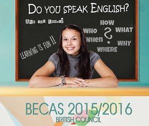 BECAS BRITISH COUNCIL 2015