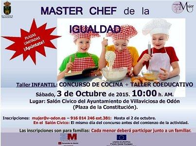 MASTER CHEF DE LA IGUALDAD